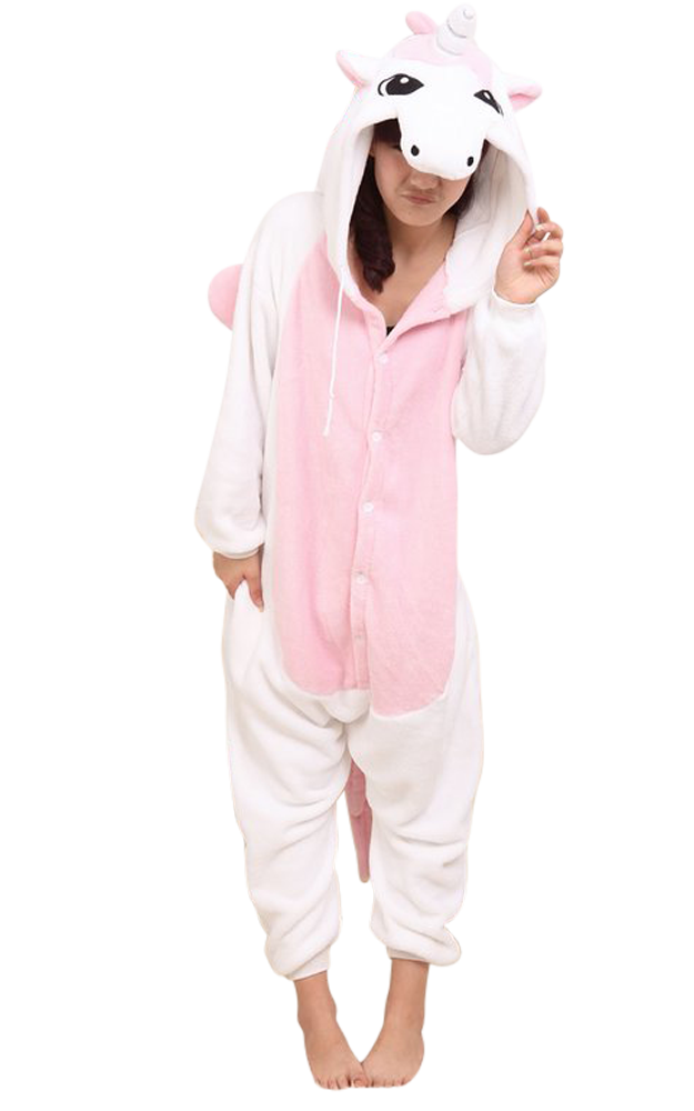 Roze-Eenhoorn-Onesie