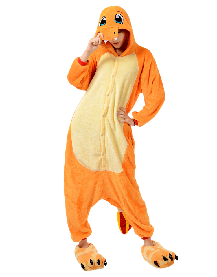 Charmander Pokemon Onesie