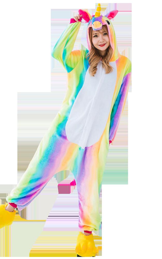 Eenhoorn-Onesie-Regenboog