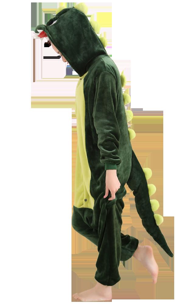 Groene-Draak-Onesie