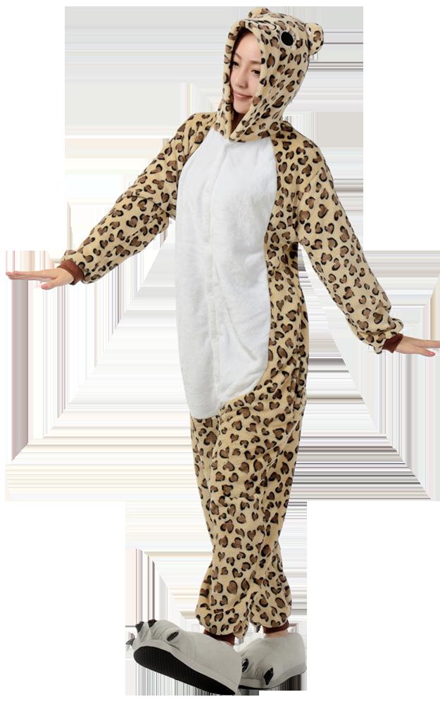 Luipaard-Onesie