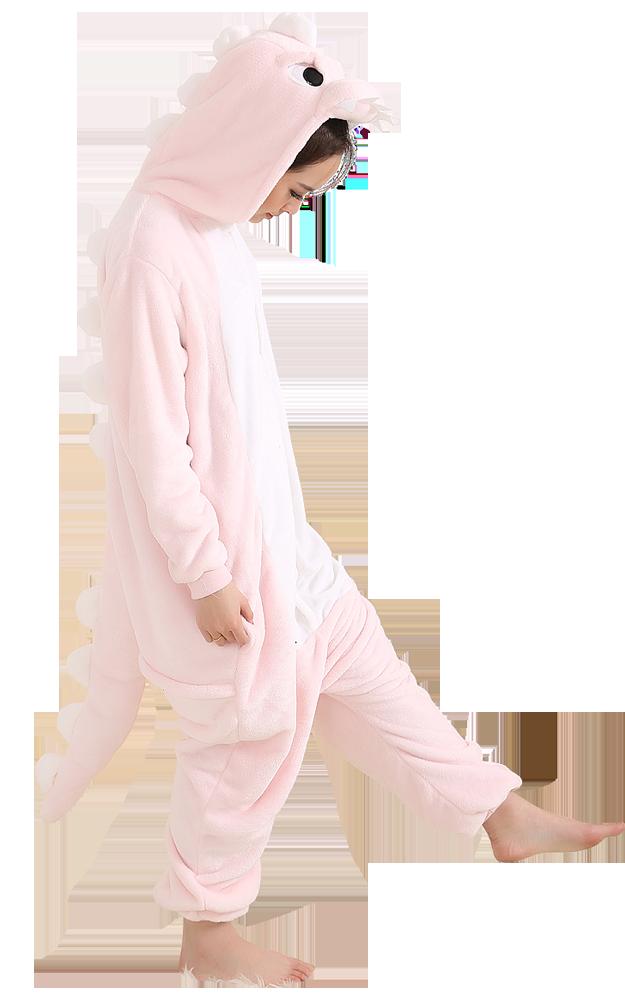 Roze-Dino-Onesie