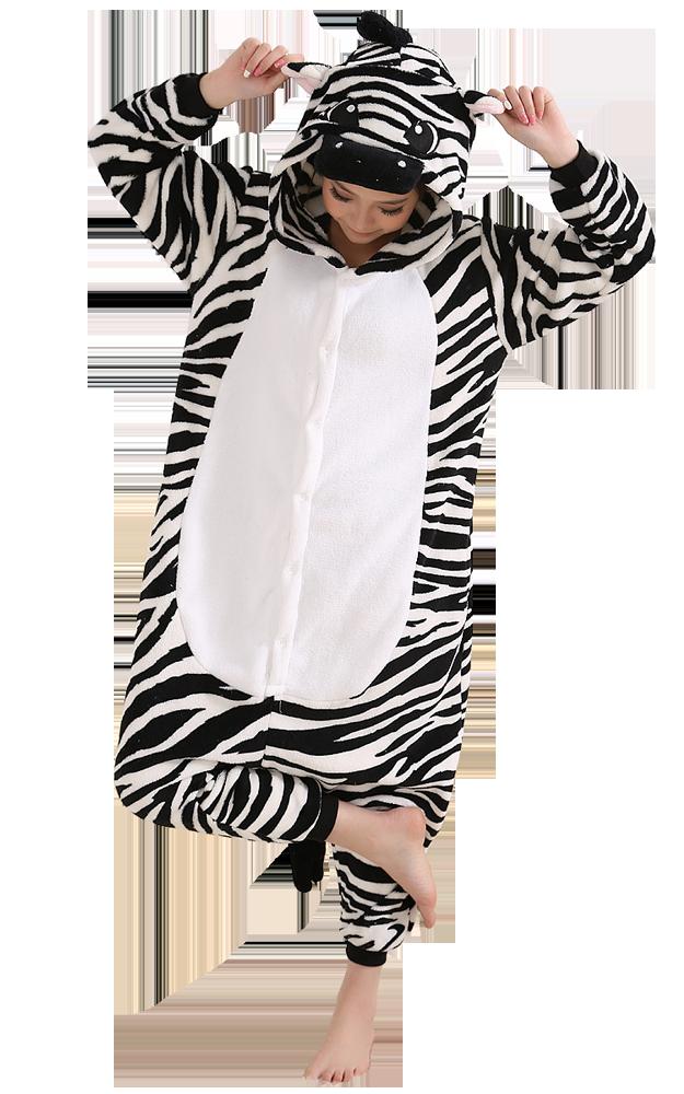 Zebra-Onesie