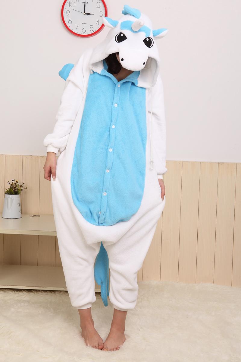 Eenhoorn Onesie Blauw 2