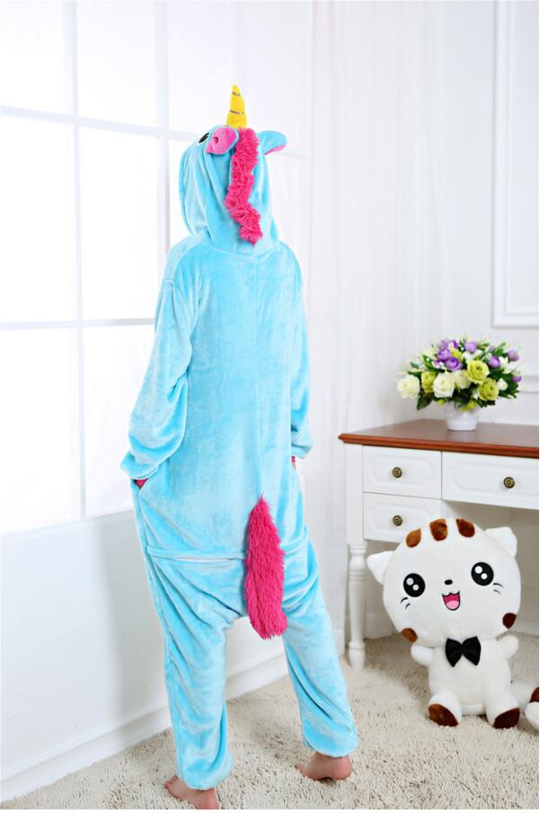Eenhoorn Onesie Blauw 3